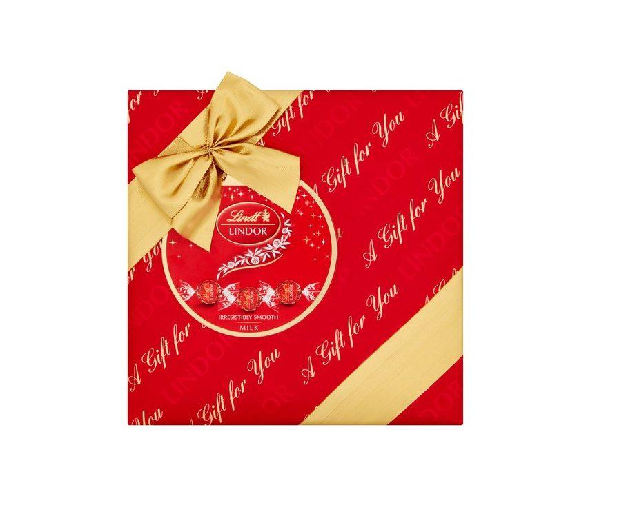 Sjokolade julegave bedrift