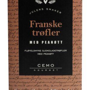 Franske trøfler med peanøtt